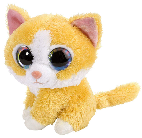 "Wild Republic Li'l Sweet & Sassy ""Butterscotch"" Kat Bamse 12 cm"