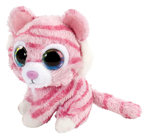 "Wild Republic Li'l Sweet & Sassy ""Peppermint"" Tiger Bamse 13 cm"