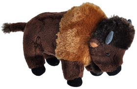 Wild Republic Lille Bison Bamse med realistiske lyde - Wild Calls Bison with Authentic Sounds 18 cm