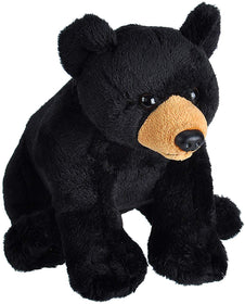 Wild Republic Lille Bjørn Bamse med realistiske lyde - Wild Calls Black Bear with Authentic Sounds 15 cm