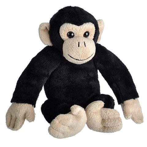 Wild Republic Lille Chimpanse Bamse med realistiske lyde - Wild Calls Chimpanzee with Authentic Sounds 18 cm