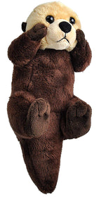 Wild Republic Lille Havodder Bamse med realistiske lyde - Wild Calls Sea Otter with Authentic Sounds 20 cm
