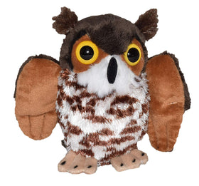 Wild Republic Lille Hornugle Bamse - CK Lil's Great Horned Owl 12 cm