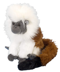 Wild Republic Lille Paryksilkeabe Bamse - CK Mini Cotton Top Tamarin 20 cm