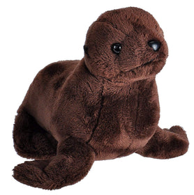 Wild Republic Lille Søløve Bamse med realistiske lyde - Wild Calls Sea lion with Authentic Sounds 20 cm