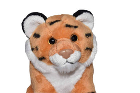 Wild Republic Lille Tiger Bamse med realistiske lyde - Wild Calls Tiger with Authentic Sounds 20 cm