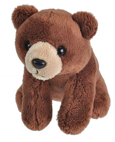 Wild Republic Mini Bjørn Bamse - Lil's Brown Bear 12 cm
