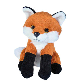 Wild Republic Mini Ræv Bamse - Lil's Red Fox 12 cm