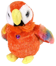 Wild Republic Papegøje Bamse - Sweet and Sassy Macaw 30 cm