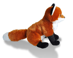 Wild Republic Ræv Bamse - Cuddlekins Red Fox 30 cm