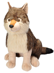 Wild Republic Ulv Bamse - Little Biggies Wolf 60 cm