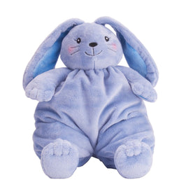 Wild Republic Krammebamse - Warm Wishes Puffy Plush Bunny, blå.