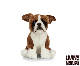 Living Nature Boxer Hund 21 cm (medium)