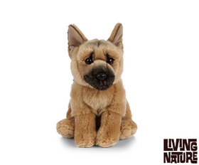 Living Nature German Shepherd Hund 21 cm (medium)