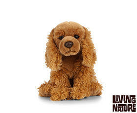 Living Nature Cocker Spaniel Hund 23 cm (medium)