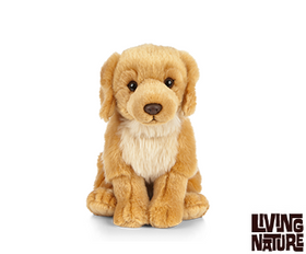Living Nature Golden Retriever Hund 23 cm (medium)