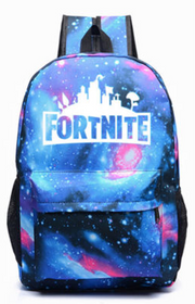 FORTNITE rygsæk / skoletaske i cool galaxy design (model B)
