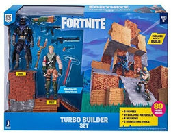 Fortnite Turbo byggesæt Sæt med 2 Figurer Jonesy & Raven