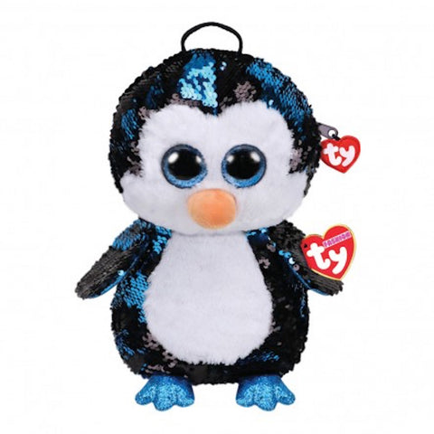 TY Fashion Collection WADDLES Pingvin rygsæk 25 cm (TY95029)