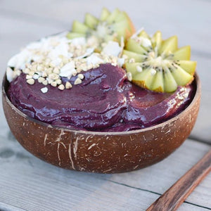 kokosnuss schale coconut bowl smoothie bowl