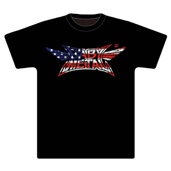 BABYMETAL CRUSH LOGO (STARS AND STRIPES) TEE