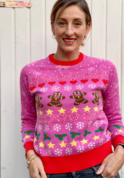 Cute Cookie Christmas Sweater
