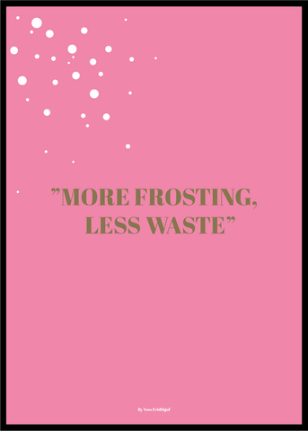 FROSTING PINK POSTER