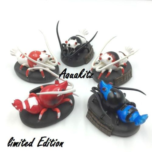 Aquakitz Crystal Red Shrimp Bee Shrimp Figures Limited Edition