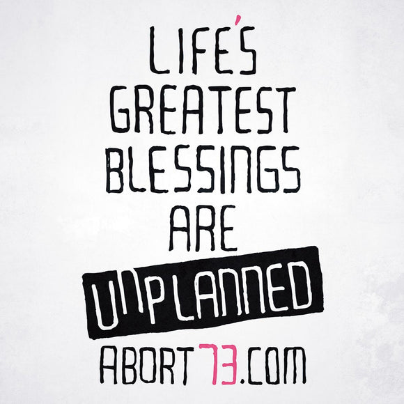 Life's Greatest Blessings Are Unplanned