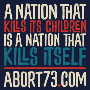 A Nation That Kills Its Children Is A Nation That Kills Itself