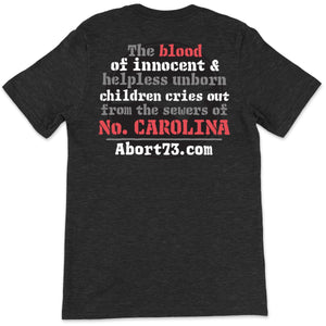 North Carolina (Innocent Blood): Unisex T-Shirt