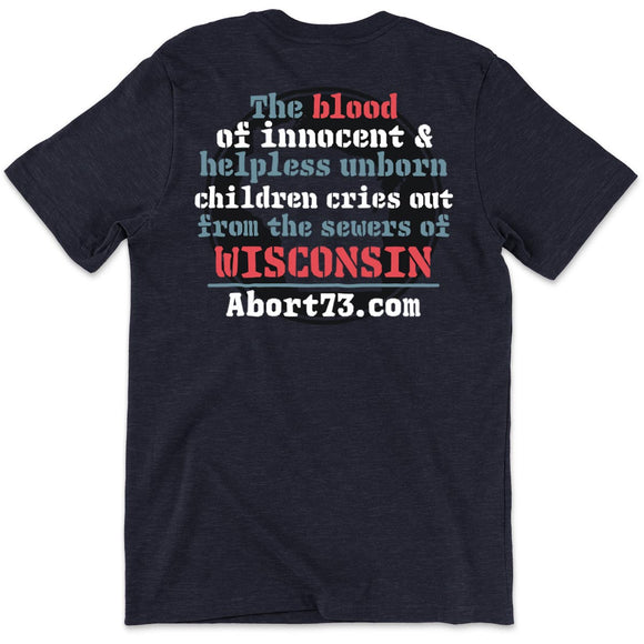 Wisconsin (Innocent Blood): Unisex T-Shirt