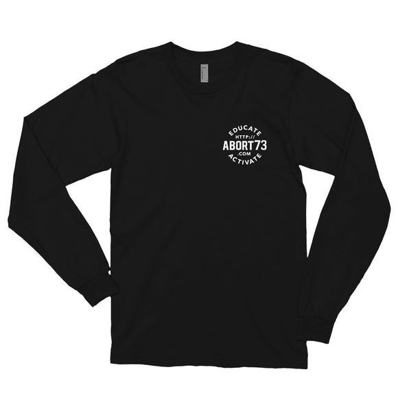 Educate. Activate: Unisex, Long-sleeved T-shirt
