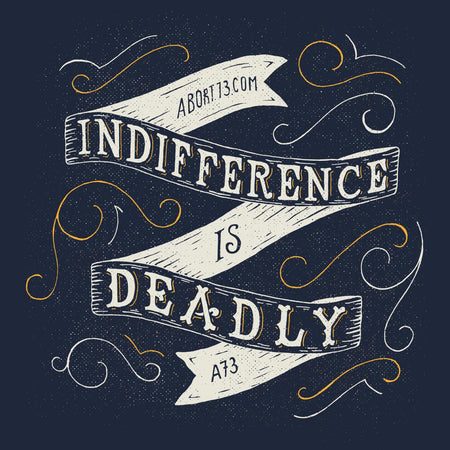 Indifference is Deadly: Unisex T-Shirt