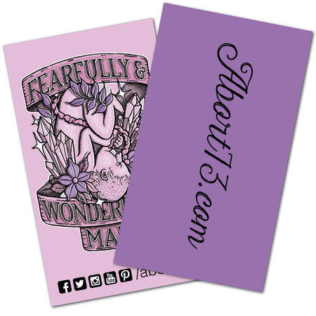 Fearfully & Wonderfully Made: Promo Cards (50 pack)