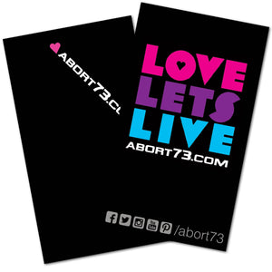 Love Lets Live: Promo Cards (50 pack)