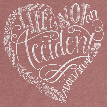 Life is Not an Accident: Women's Relaxed T-Shirt