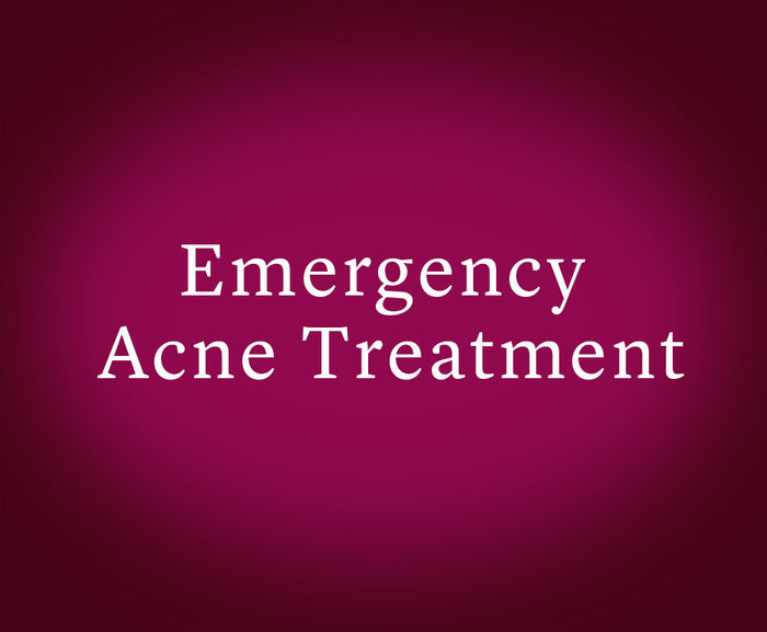 Emergency Acne Treatment