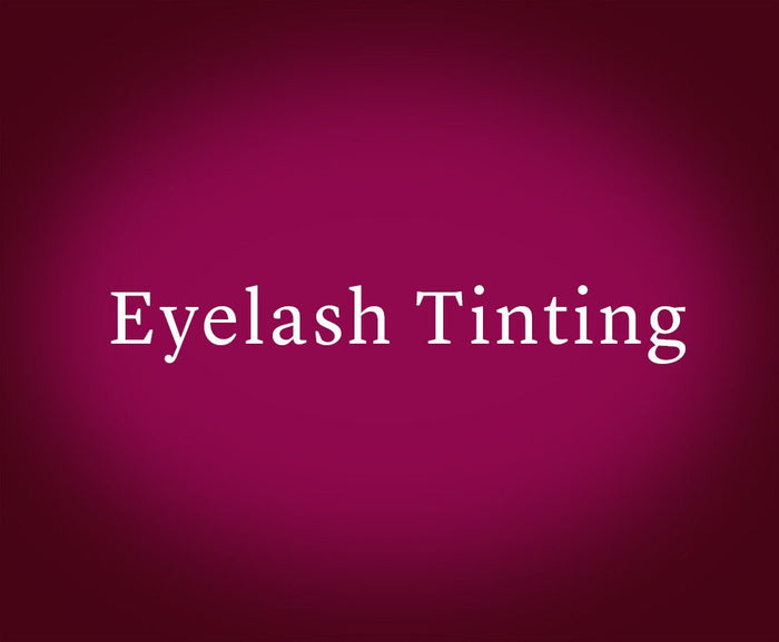 Eyelash Tinting (Gift Card)