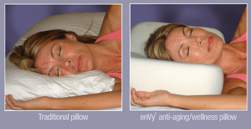 The Best Anti-Wrinkle Pillow - Mulberry Silk and Copper Infused