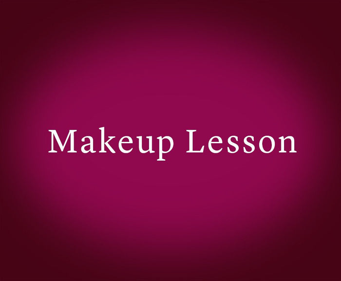 Makeup Lesson (Gift Card)