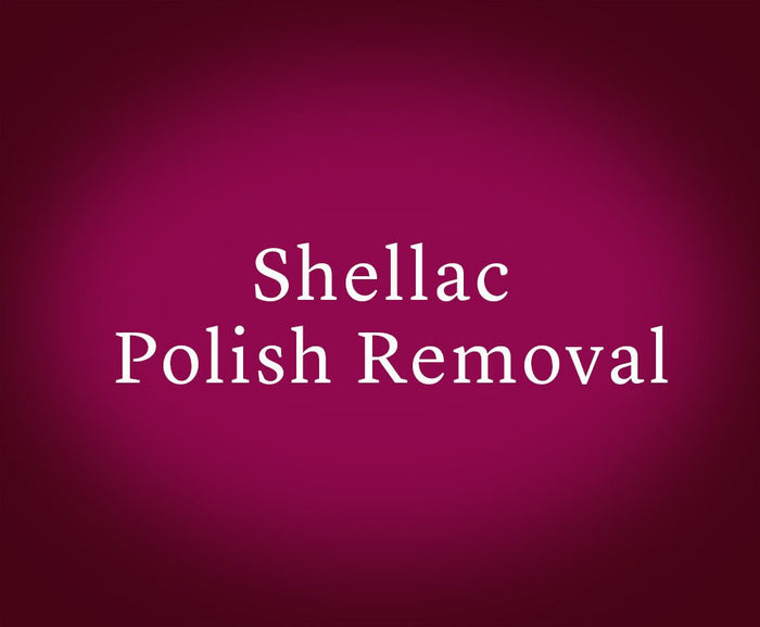 Shellac Polish Removal (Gift Card)