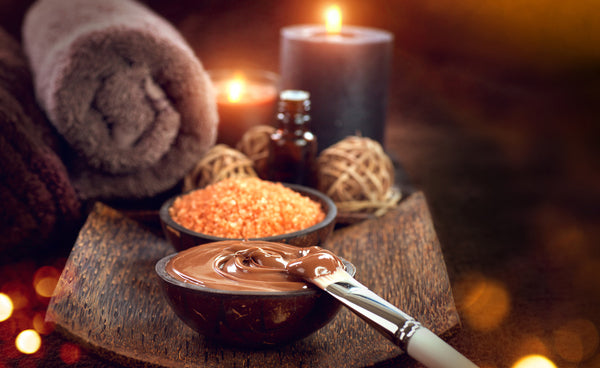 Cocoa Facial with Sugar Ginger Body Scrub