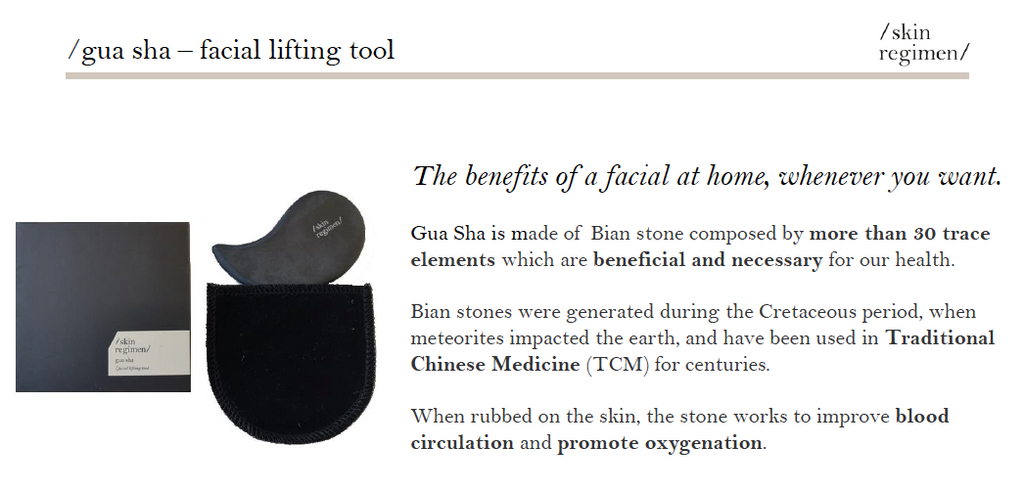 Gua Sha Facial Lifting Tool