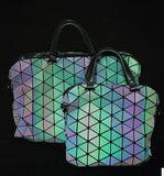 Luminesk messenger bag reflective color overnight