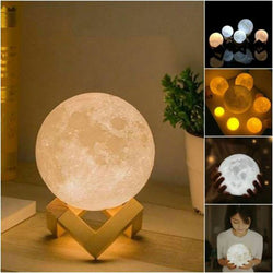 3D LUNAR MOON NIGHT LAMP