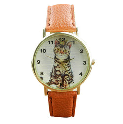 Cute Cat Pattern Watches