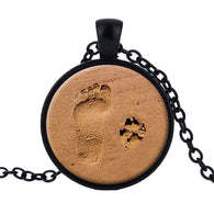 Dog Lover Necklace Paw