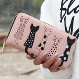 Cat bag card holder