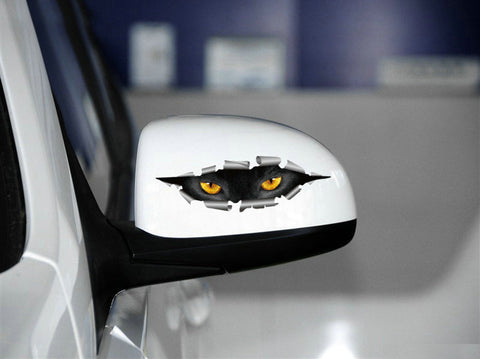 Car Sticker Peeping Cat Styling Reflective